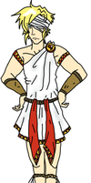 BRITISH TOGA - NOT A DRESS by Spaniel122