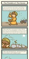 Book of Mark - Parable of The Sower by Poporetto