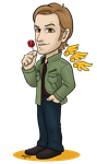 Supernatural - Trickster Archangel by kelly42fox