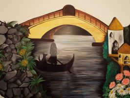 My Mural.. My Paradise.. My Haven by MalakElMasry