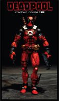 "CUSTOM MODERN ""DEADPOOL"" by STANJOKER"