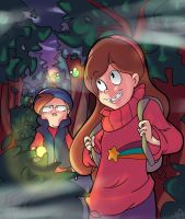 Hiking by megamooni