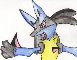 Lucario by Asparticus