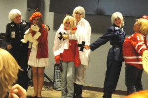 FANdom 2012: Canada and Prussia x3 by Ringtail14