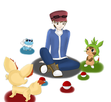 Yamimash Pokemon X and Y by M-G-K