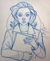 Clarice Starling by y2jenn