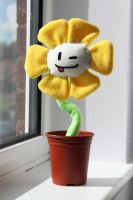 Undertale - Flowey Prop by Dark-Dragon-Spirit