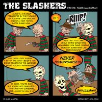 The Slashers 30 by crashdummie