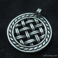 Silver pendant from medieval Russia by Sulislaw