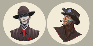 Steam Powered Giraffe by Sharobury