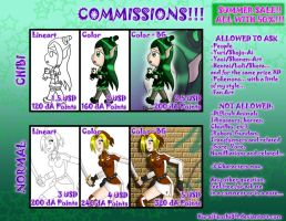 COMMISSIONS CHART 2013 by KuraiTenshi89
