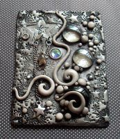 Starry Night ACEO clay by MandarinMoon