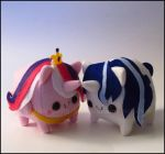 Shining Armor and Cadence Loafie Set by Serenity-Sama