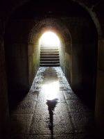 Light at Tunnels End by Somnium-Draco