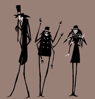 daddy long legs ideas by Spoonfayse