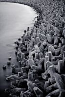 Sea Defences by Waylandscape