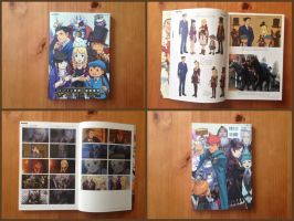 Professor Layton VS Ace Attorney Artbook by BenjaminHunter