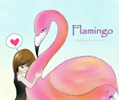 Flamingo by Zoehi
