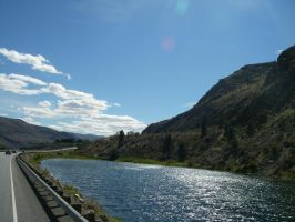 Washington US 97 Near Chelan 5 by archambers
