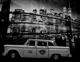 taxi and new york by EnriqueGomez