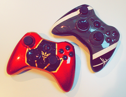 Gundam Controller Commissions by velocitti