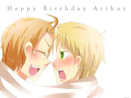 APH-Happy Belated Birthday by sillyyellow