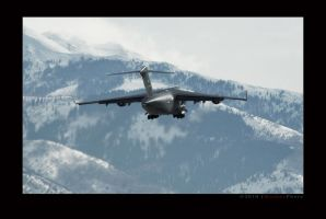 C-17 Departure by jdmimages