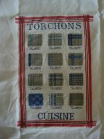 tea/dish towel (torchons in french) by Eyeofneedle