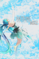 Hatsune Miku iPhone Wallpaper V.1 By Me by Laurello7