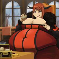 CM: Demon Queen of Gluttony by Metalforever