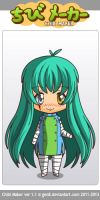 ChibiMaker aqueel (human form) by Antidotethelizard