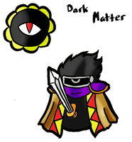 Paper Dark Matter COLORED by DynamiteManEXE