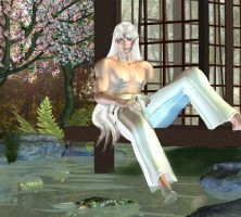 Sesshomaru's Garden by curiousping