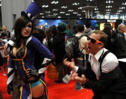 Mad Moxxi - NYCC 2012 by SpideyVille