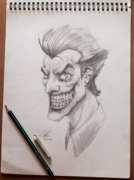 The Joker by chuckie-chan