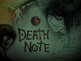 Death note by AnaDemian