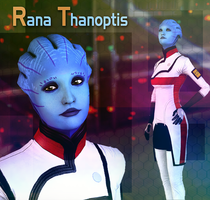 Mass Effect: Rana Thanoptis (model for XnaLara) by Sia-G