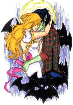 Fionna and Marshall lee missing SCENE FINISHED by yummy-ami-sama