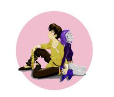 Ryoga and Raven by chou-roninx by teentitans