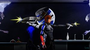 ME3 - Got your back by LatinRabbit