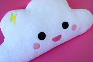 Cuddly Cloudy pillow by FizziMizzi