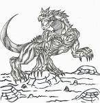 Fewfagear the iron scale by AXEHEADSINISTER