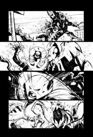 Marvel Test Page2 by alessandromicelli