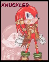 Knuckles Training Outfit by DragonQuestHero