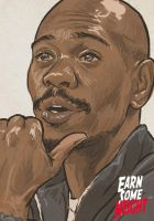 Dave Chapelle by EarnSomeHeight