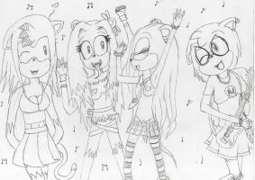 Entry: Party like a Rockstar by ShadowsBabe432