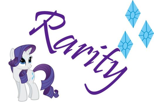 Rarity Poster by fade2BLACK205