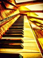 The Golden Piano by RiegersArtistry
