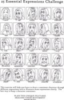 25 expressions - Alma by Doodlebotbop