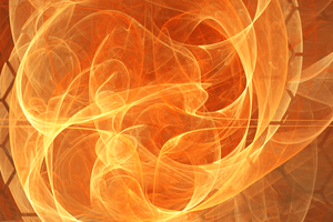 swirl of fire by tsahel